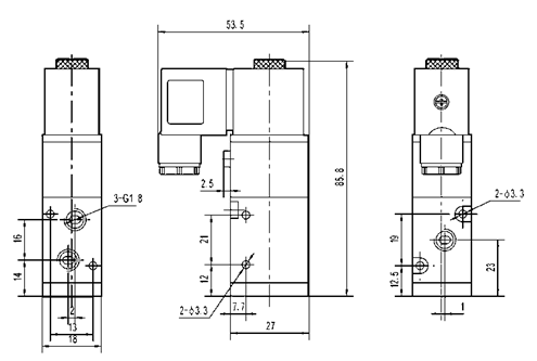 Quality 1867261 Single_acting_solenoid_operated_directional_control_valve